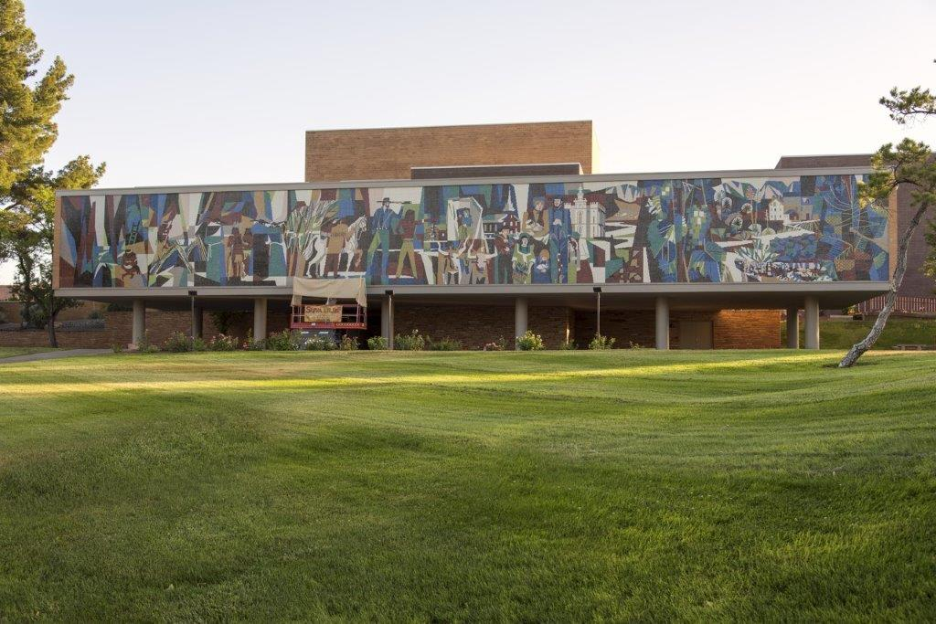 Dixie State University Glass Mosaic Mural Restoration | Suva